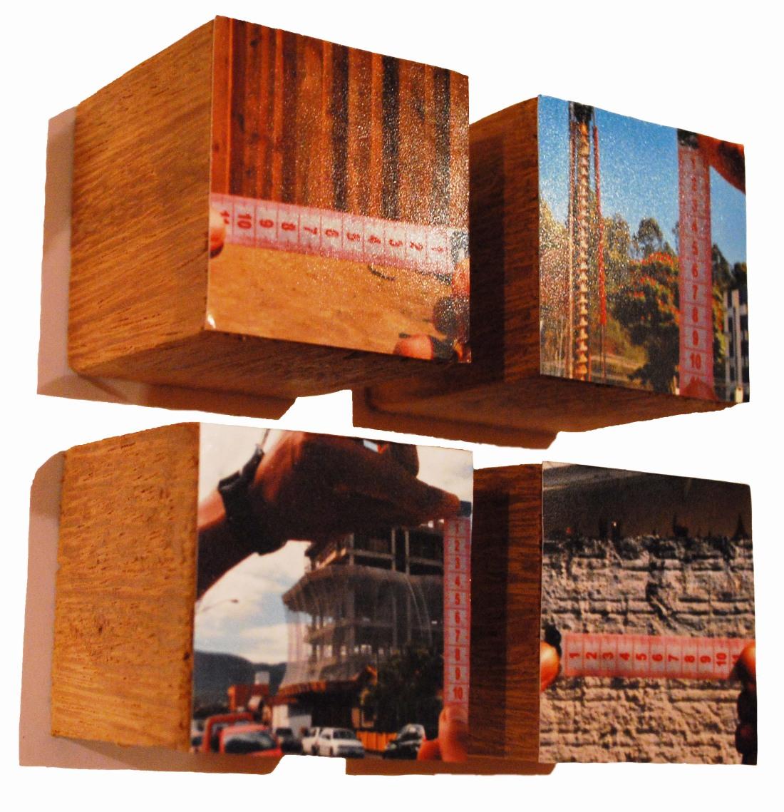 2009_metro1_10x10x4,5_fotografia sobre madera